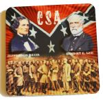Robert E. Lee & Jefferson Davis Magnet